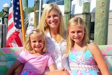 Tricia Morrow and Children