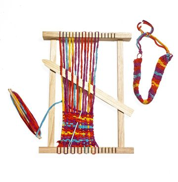 Lakeshore Learning My First Weaving Loom