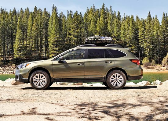 Family Cars 2017 Subaru Outback