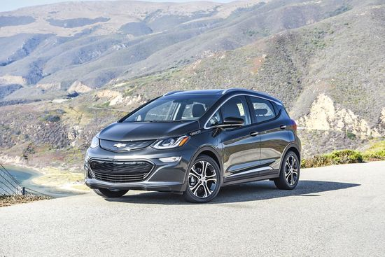 Family Cars 2017 Chevrolet Bolt EV