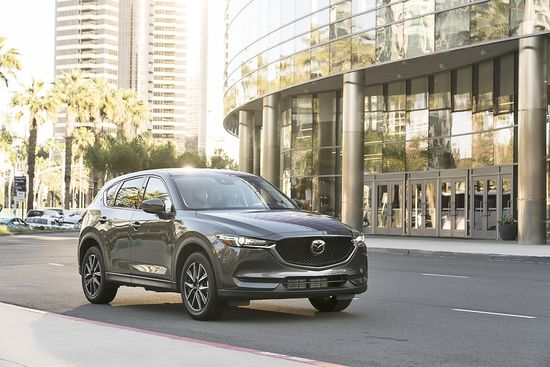 Family Cars 2017 Mazda CX-5