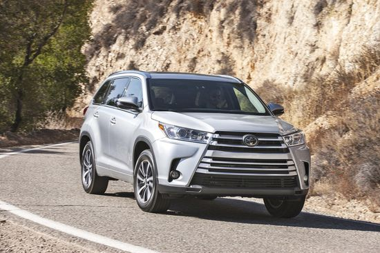 Family Cars 2017 Toyota Highlander