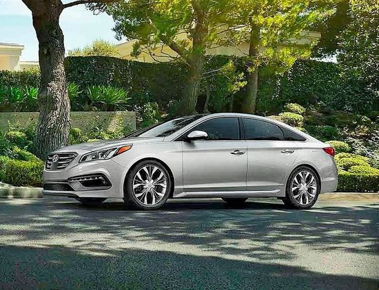 Best Sedan. Family Cars 2017 Hyundai Sonata