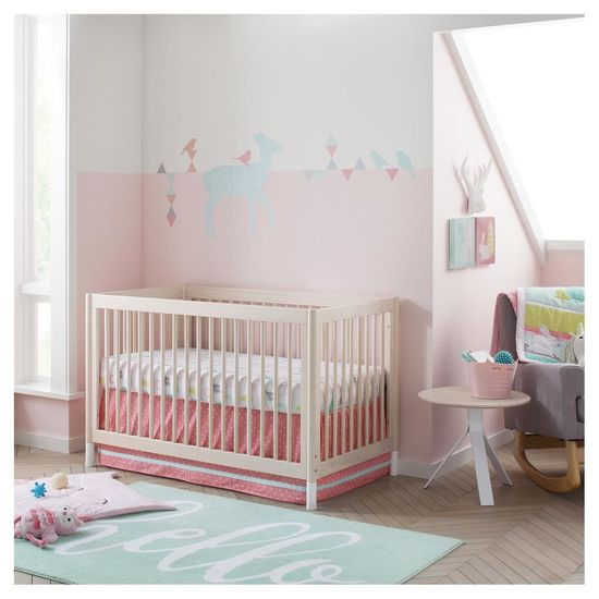 Cloud Island Nursery Collection Pink Bedroom