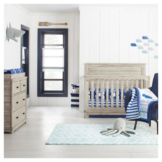 Cloud Island Nursery Collection Blue Neutral Bedroom