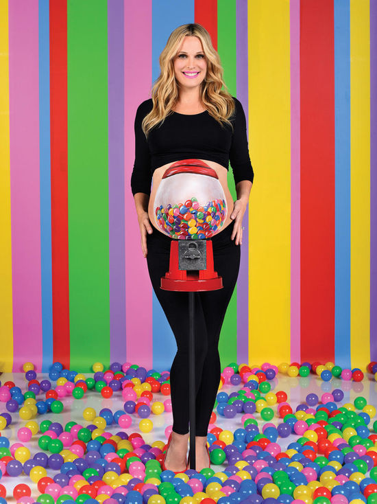 The Belly Art Project Molly Sims