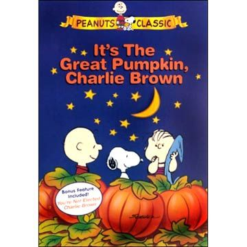 charlie brown halloween movie poster