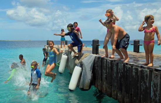 kids sea camp bonaire