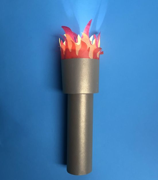 Olympic Crafts Torches