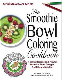 the smoothie bowl coloring book