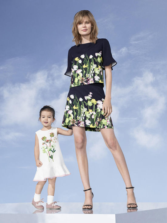 women and toddler victoria beckham for target