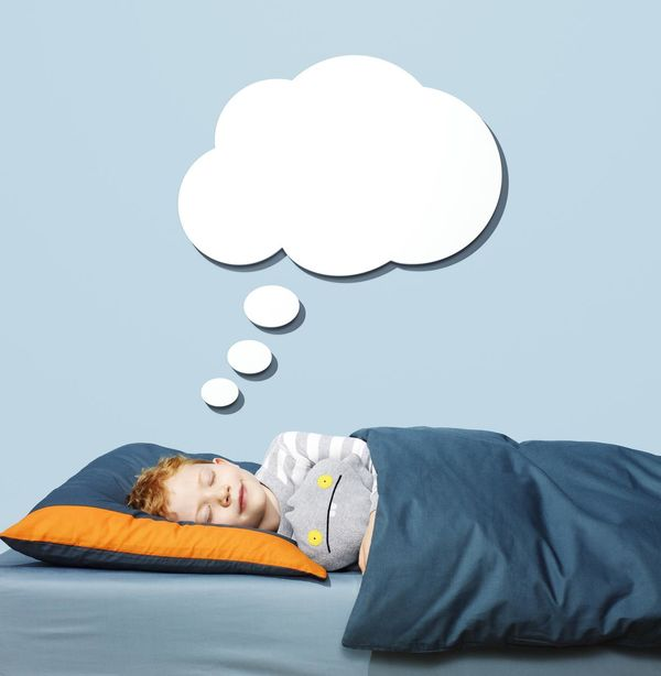 Child Sleeping and Dreaming