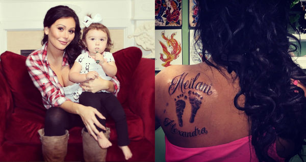 JWoww tattoo for daughter