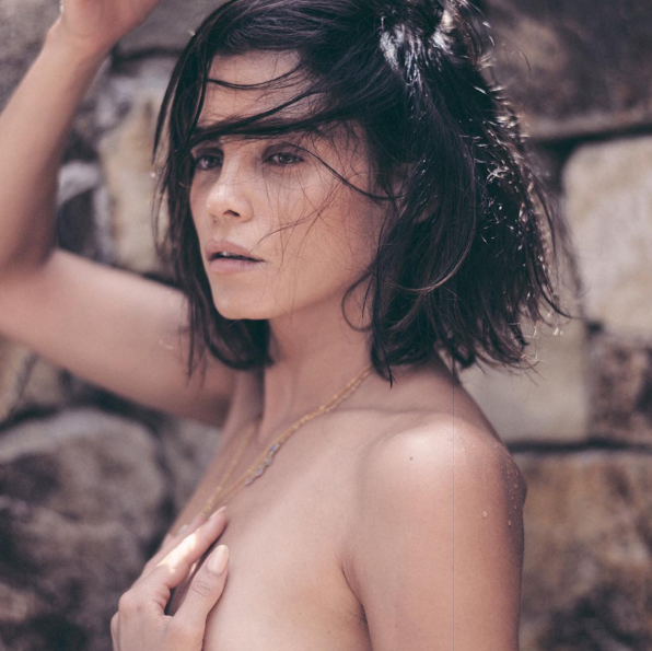 Jenna Dewan Tatum topless on Instagram.