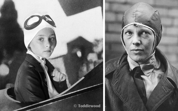 Girl Scouts Women's History Month Amelia Earhart