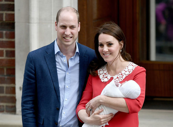Kate and William with baby #3