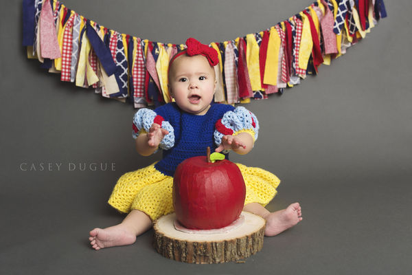 Snow White photo shoot dress