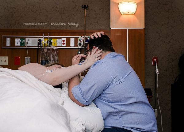 couple during labor