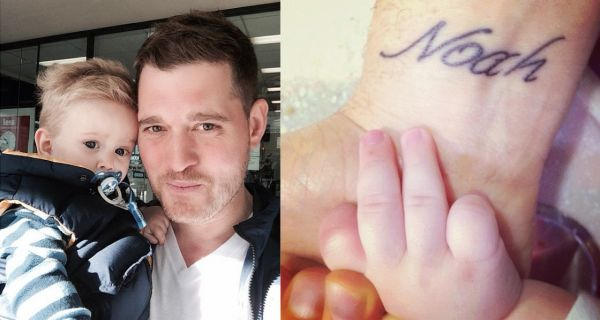 Micahel Buble tattoo