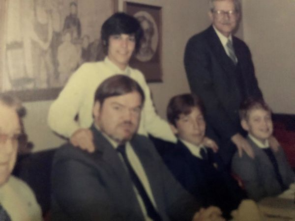 Chuck Todd as Child with Father