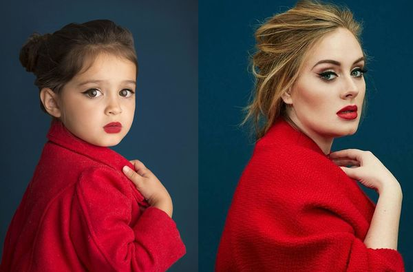 Scout as Adele