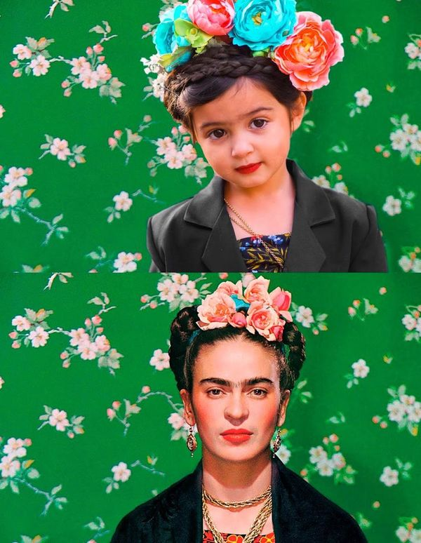Scout as Frida Kahlo