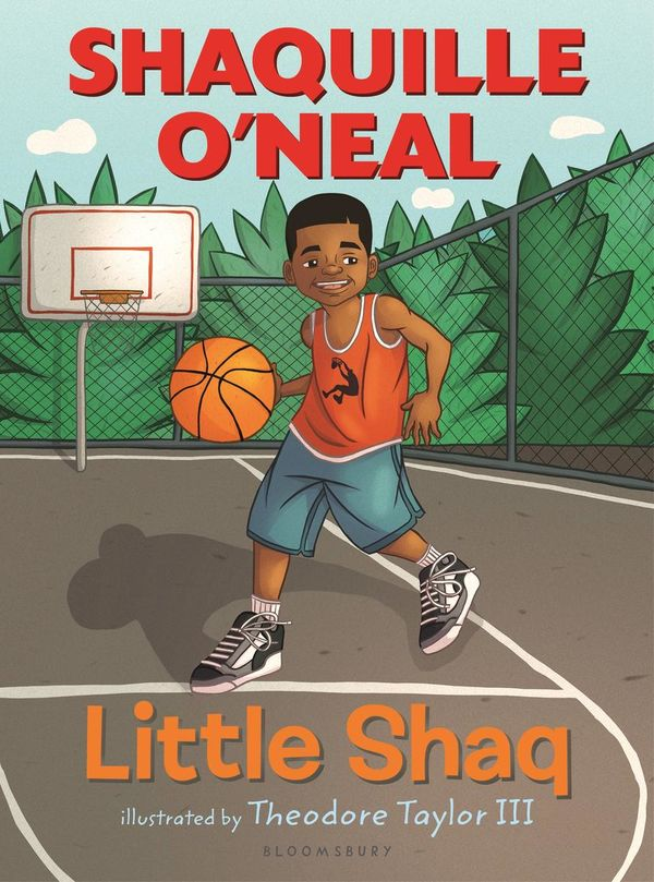Shaquille O'Neal Little Shaq Book Cover